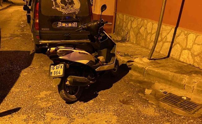 Bursa'da Emanet Aldığı Motorla Uyuşturcu Satarken Yakalandı