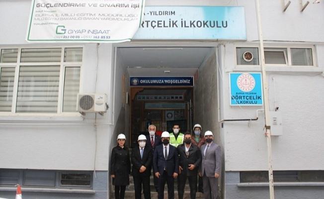 Bursa'da Okul İnşaatları Hız Kesmiyor