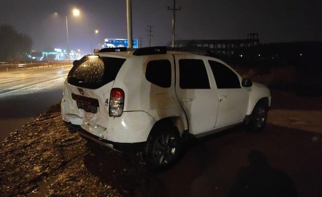 Bursa'da Zincirleme Kaza 4 Araç Çarpıştı
