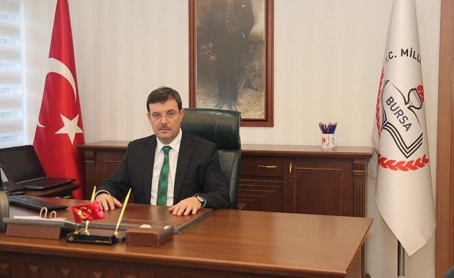 Bursa İl Milli Eğitim Müdürü Sabahattin Dülger'e yeni görev