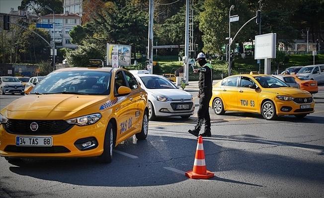 Taksi şoförlerine ilişkin flaş açıklama: 81 ile gönderildi