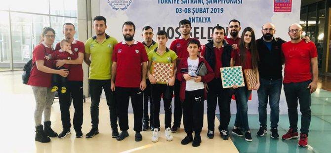 Nilüfer GESK Satrançta da Şampiyon