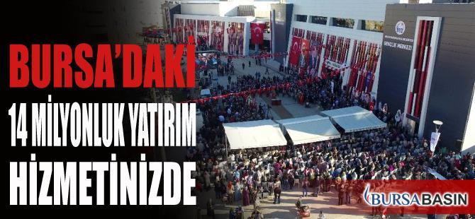 Bursa'daki 14 Milyonluk Yatırım Hizmetinizde