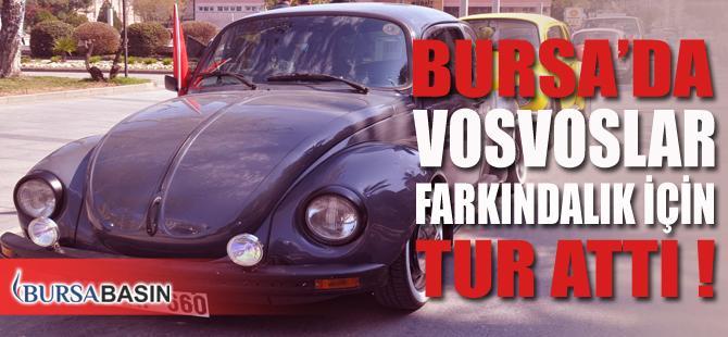 Bursa'da Vosvoslar Otizm Farkındalık Günü Nedeniyle Şehir Turu Attı