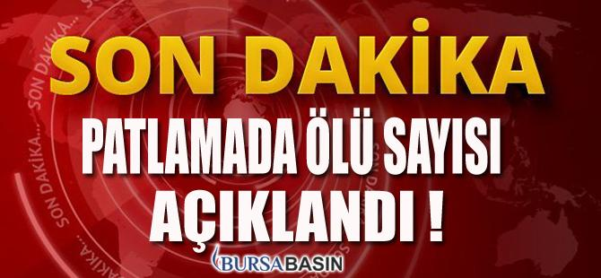 Bursa'da Meydana Gelen Patlamada Sıcak Gelişme