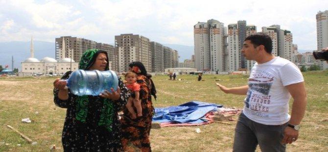 Bursa'da Ramazan Ayını Fırsata Çeviren Dilencilere Baskın