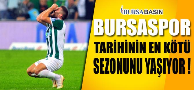 Bursaspor Tarihinin En Kötü İç Saha Performansını Sergiledi