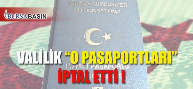 Bursa Valiliği 'O Gazetecilerin' Pasaportlarını İptal Etti