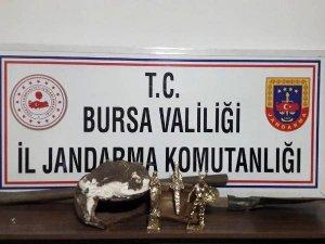 Bursa'da Kaçak Kazı Yaparken Suçüstü Yakalandılar