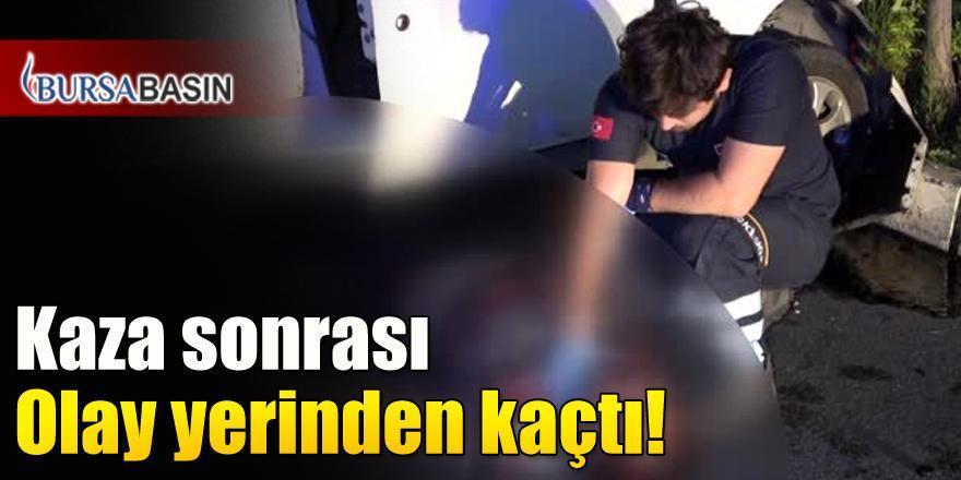 Bursa'da Ters Yöne Giren Aracın Karıştığı Kazada 1 Kişi Hayatını Kaybetti