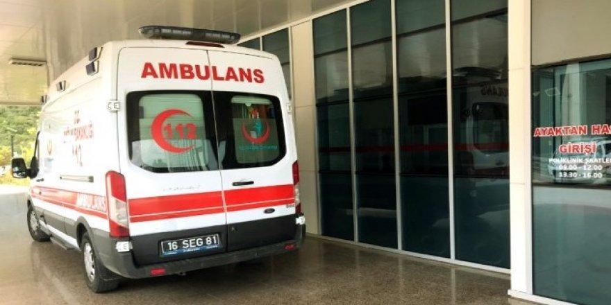 Bursa'da Ağaç Kesen İşçinin Acı Sonu