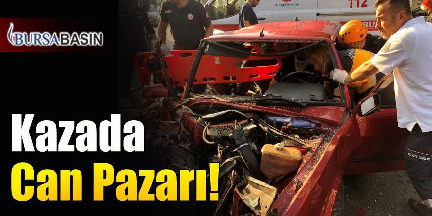 Bursa'da Yaşanan Kazada Adeta Can Pazarı Yaşandı