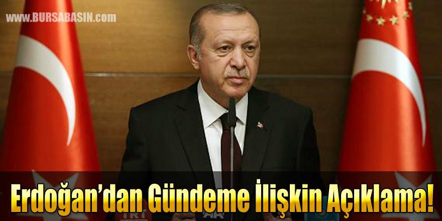 Cumhurbaşkanı Erdoğan Bakü Ziyareti Öncesi Gündeme İlişkin Açıklamalarda Bulundu