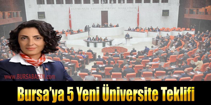 Bursa'ya 5 Yeni Üniversite Kurulması Yönünde Meclise Teklif Sunuldu