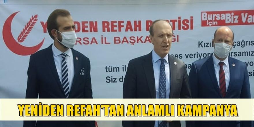 Bursa'da Yeniden Refah'tan Anlamlı Kampanya