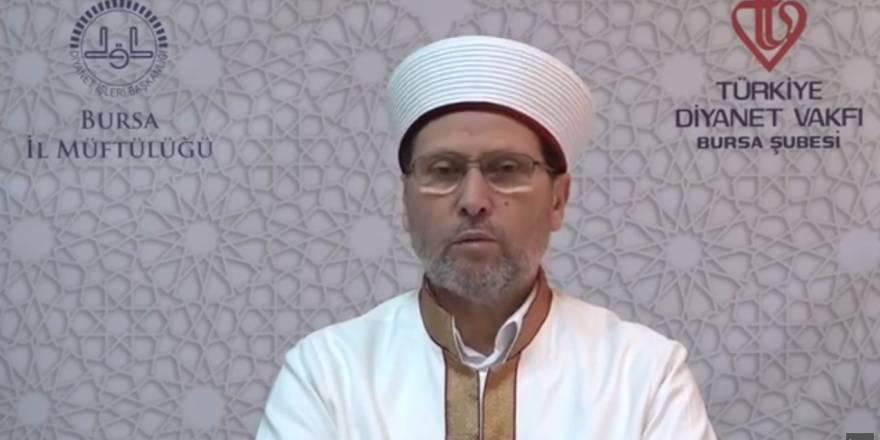 Bursa Müftülüğü 2020 Ramazan Ayı Vaaz Kürsüsü 3. gün - İlyas Narin